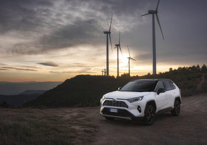 Toyota RAV4 Hybrid Elektroautos