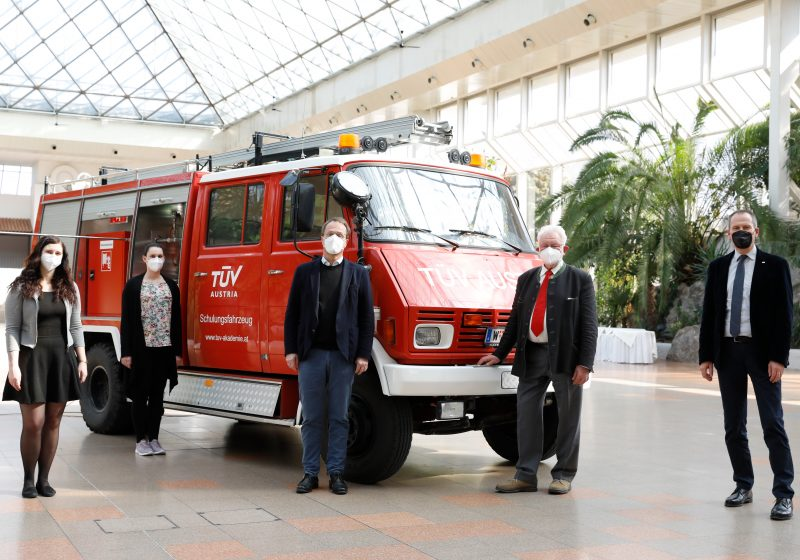 Fire TÜV AUSTRIA Brandschutztag