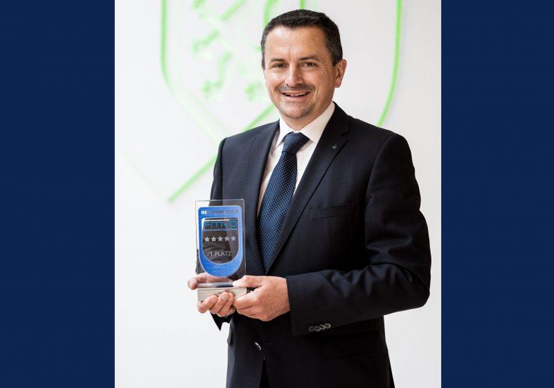 GRAWE siegt erneut beim Recommender Award 2021