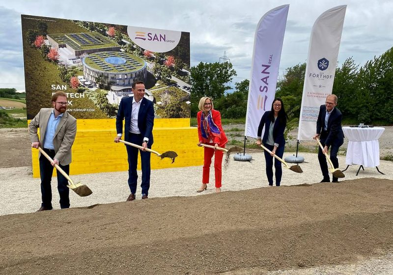 Forschungszentrum soll 200 Arbeitsplätze in NÖ bringen SAN Group
