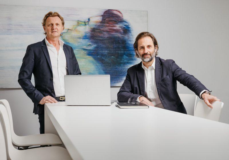 Ewald Stückler und Thomas Belina, Geschäftsführer der SBG Smart Building GmbH.