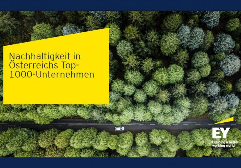 EY Unternehmensbefragung: Klimaschutz und Nachhaltigkeit in Österreichs Top-1000-Unternehmen