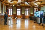 Jubiläumsveranstaltung der Deutschen Handelskammer in Österreich (DHK) im Studio 13 im Palais Niederösterreich in Wien