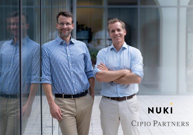 Nuki schließt Finanzierungsrunde über 20 Millionen Euro ab Cipio Partners