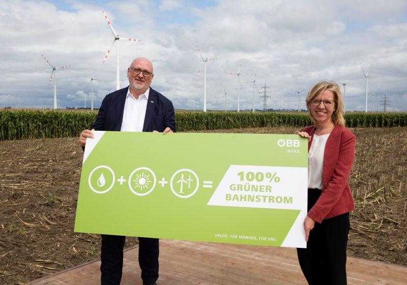 ÖBB errichten weltweit erste 16,7 Hz Bahnstrom-Windenergieanlage