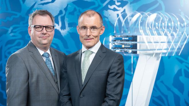 Helmut Fallmann und Leopold Bauernfeind, Mitgliederdes Vorstandes