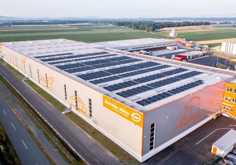 Gebrüder Weiss steigert Solarstromproduktion