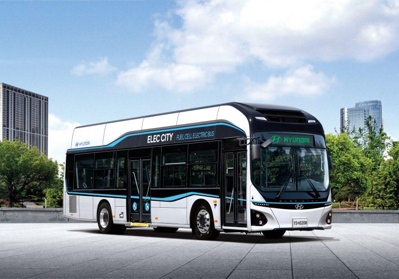 Start für den ersten regulären Wasserstoff-Stadtbus in Österreich