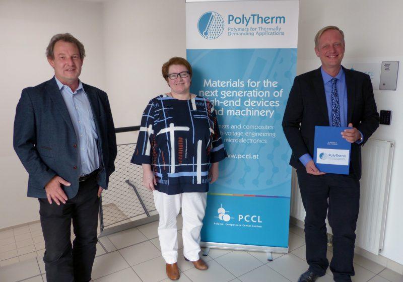 Zukunftsmaterialien für die Elektronik- und Halbleiterindustrie aus Leoben PolyTherm