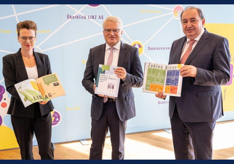 Der Umwelt- und Nachhaltigkeitsbericht der LINZ AG